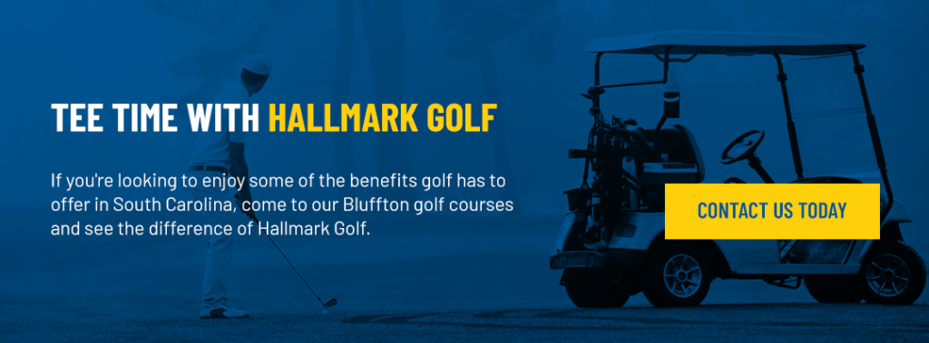Tee Time with Hallmark Golf graphic